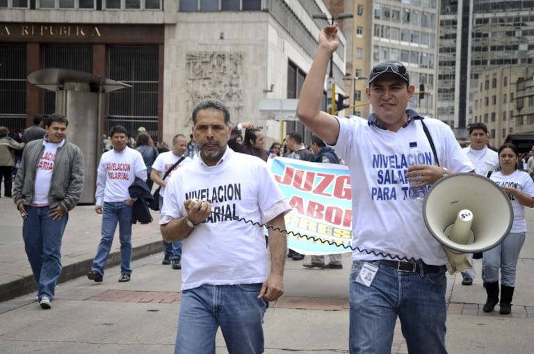 """Paro de Asonal tiene 100 mil procesos civiles """"frenados"""""""