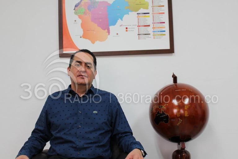 Alcalde de Envigado Raúl Cardona, el más destacado en los 100 días de gobierno.