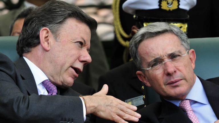 Uribe da portazo a invitación de diálogo con el  Presidente Juan Manuel Santos