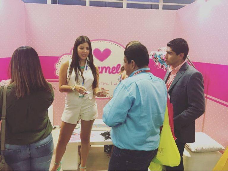 """El éxito """"acaramelao"""" de la joven empresaria que sorprendió en Colombiamoda"""