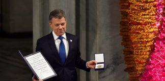 Juan Manuel Santos Nobel de Paz