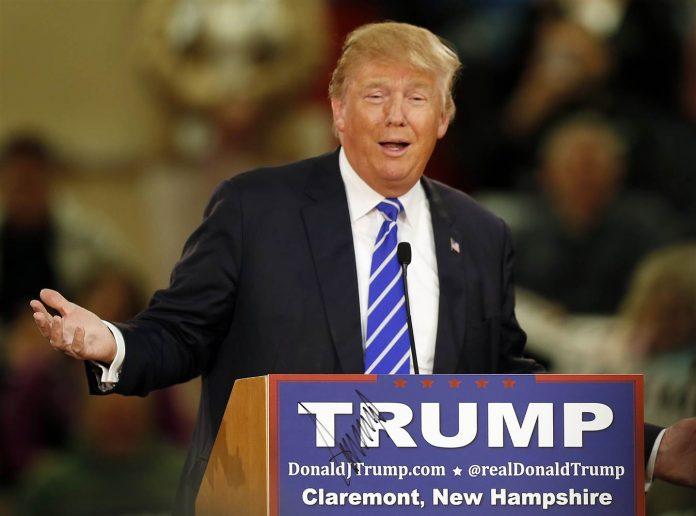 Donald Trump personalidad del año.