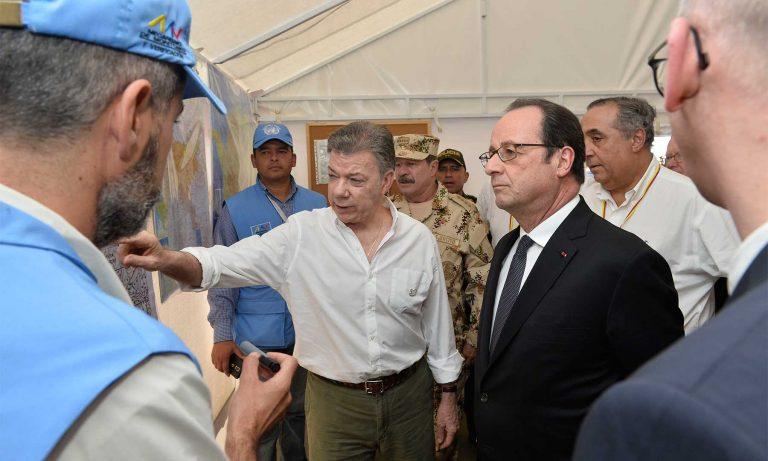 FARC estarán en zonas de concentración el 31 de enero.