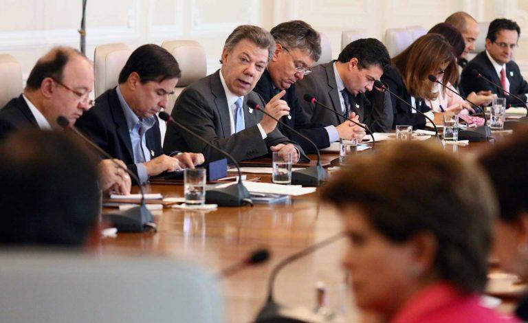 Remezón ministerial en el Gobierno Santos.