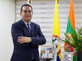 Raúl Cardona González, alcalde de Envigado