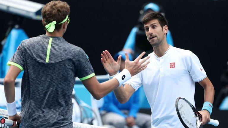 Novak Djokovic es eliminado del abierto de Australia en segunda ronda
