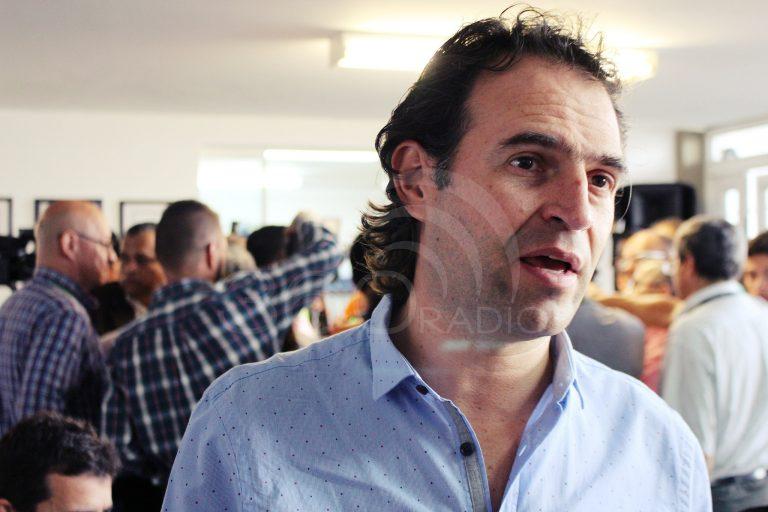 Federico Gutiérrez niega que esté apoyando la campaña de Santiago Gómez