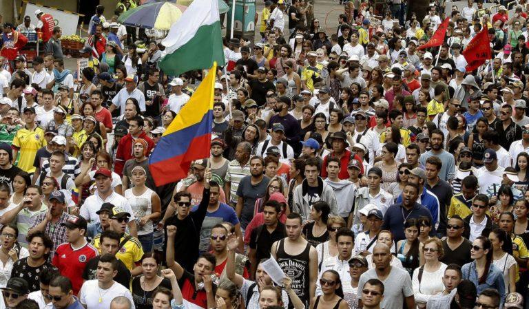 Comité del Paro convocó marchas para el 26 y 28 de mayo