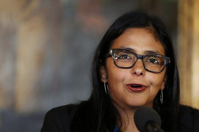Delcy Rodríguez fue sancionada por la Unión Europea