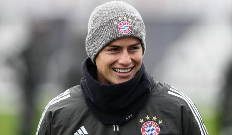 James cada vez juega mejor: dt Bayern Múnich