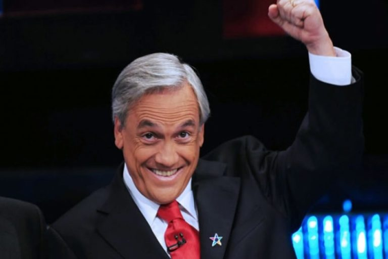 Sebastián Piñera es elegido presidente de Chile