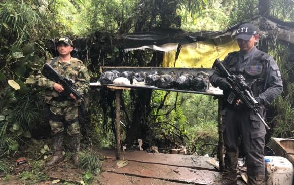 Cerca de Bogotá operaba laboratorio móvil de cocaína