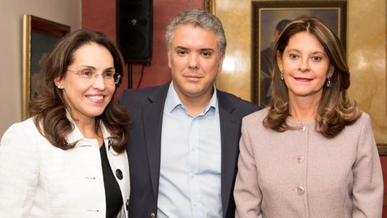 Es oficial: Viviane Morales se adhiere a la campaña de Iván Duque