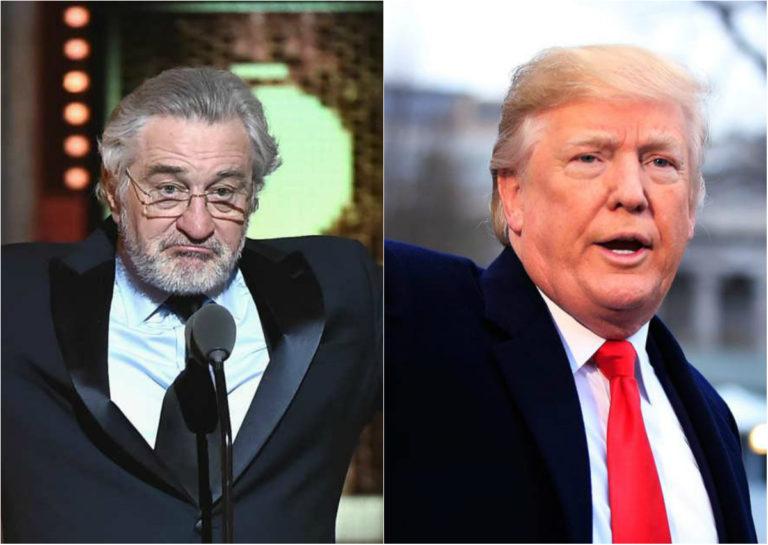 Robert De Niro insultó a Trump mientras este se reunía con Corea