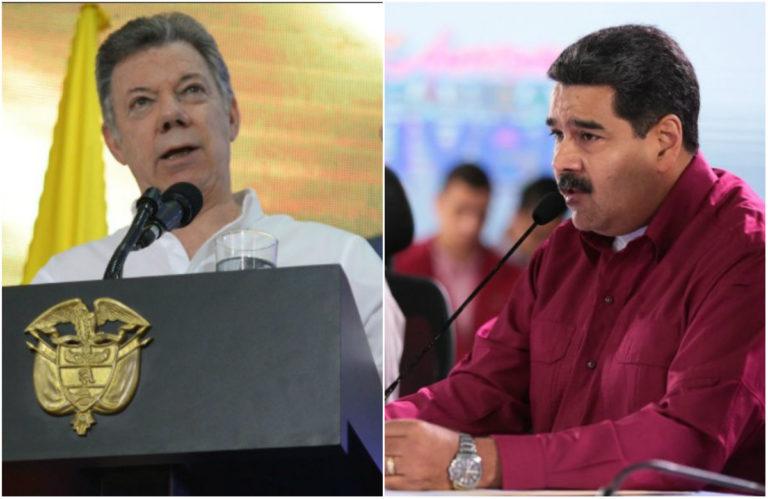 """""""La salida de Maduro es una condición necesaria para un cambio de régimen y para la devolución a los venezolanos de su democracia"""", Santos"""
