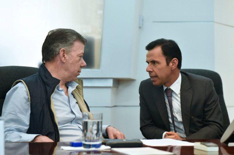 Ministro del Interior de Santos será embajador en el Gobierno Duque