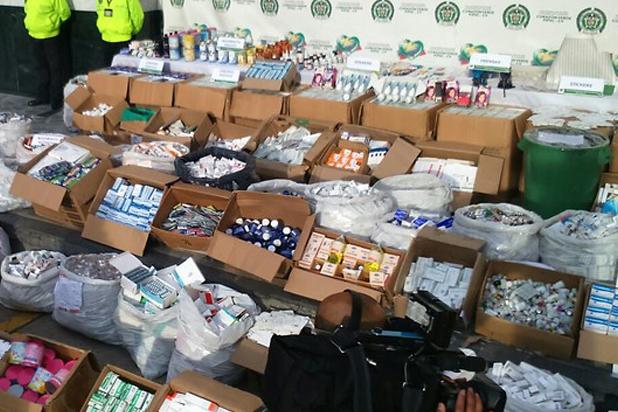 41.900 unidades de medicamentos fueron incautadas en Barranquilla