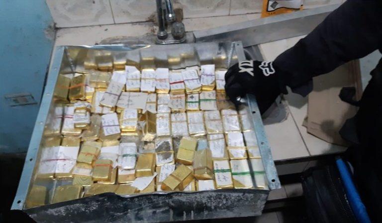 Incautaron 54 kilos de oro que serían propiedad del Clan del Golfo
