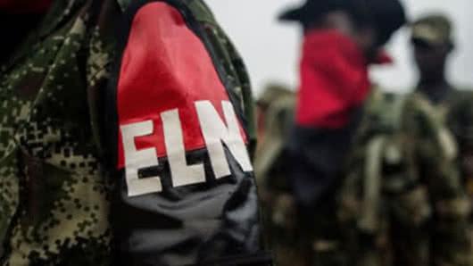 Guerrilleros del ELN secuestran a seis personas en Colombia