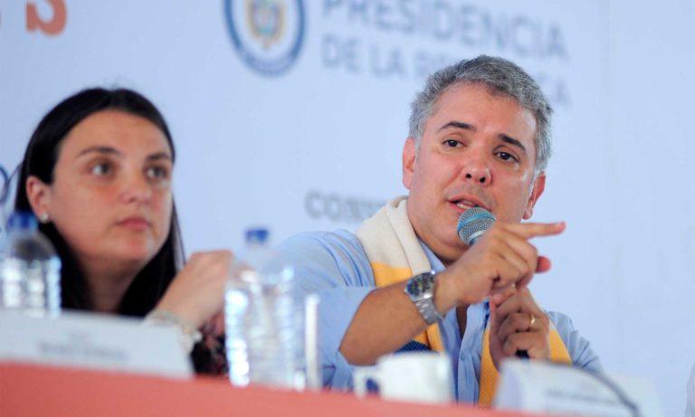 """""""Les he cumplido a los colombianos en 71 días"""", Iván Duque"""