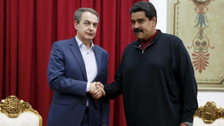 """""""La obsesión contra el Gobierno de Venezuela responde a intereses económicos"""", Rodríguez Zapatero"""