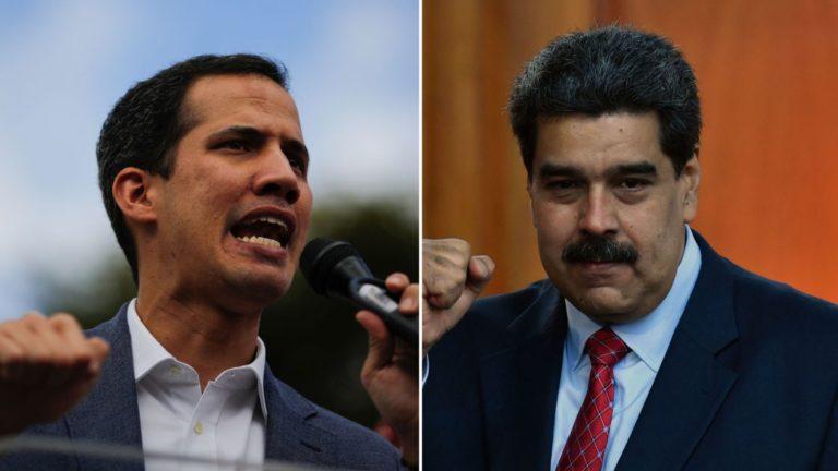 Juan Guaidó no considera negociación con Nicolás Maduro
