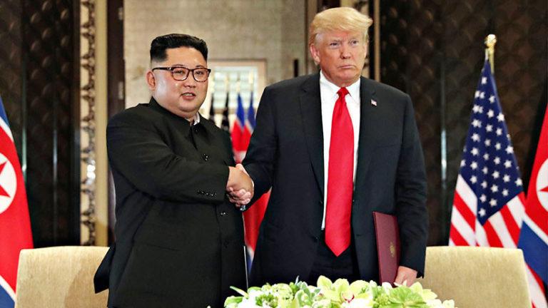 Trump y Kim se reunirán en Vietnam esta semana
