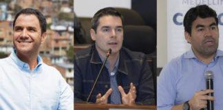 Valderrama, Cuartas y Hernandez por la alcaldía de medellin
