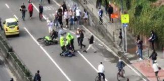 Policia atropelló ciudadano
