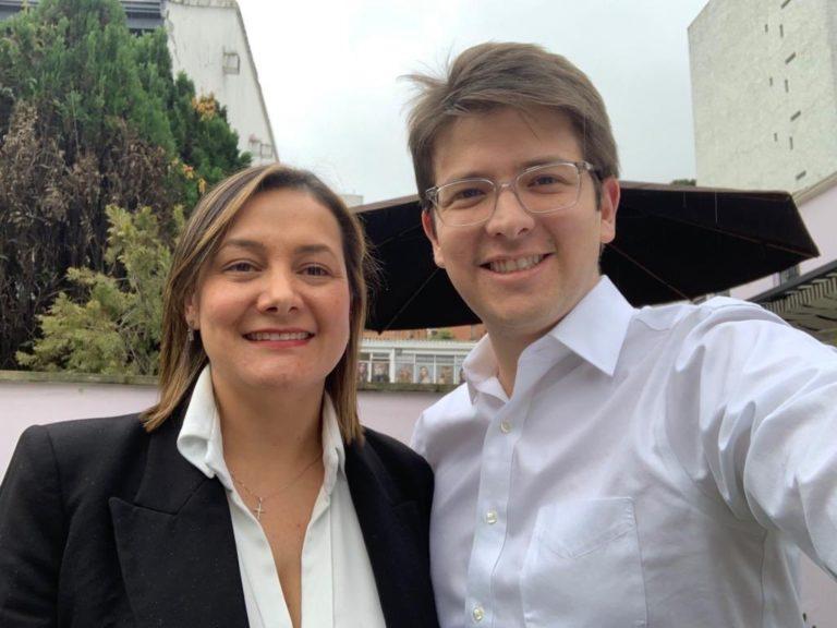 Alianza entre Ángela Garzón y Miguel Uribe para alcanzar la alcaldía de Bogotá