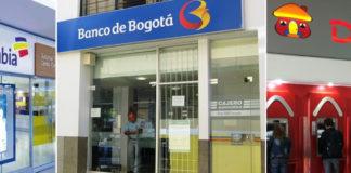 Bancos de colombia