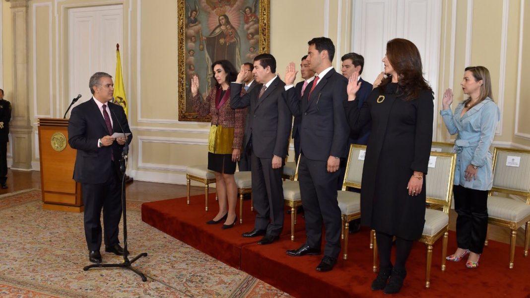 Gabinete ivan duque