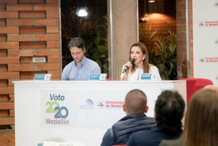 Beatriz Rave quiere llegar a la Alcaldía de Medellín para invertir en vivienda: Debate #Voto2020Medellín
