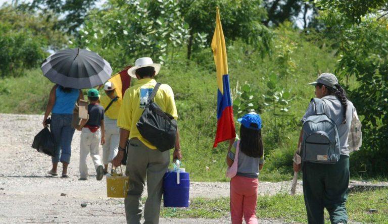 Más de 100 personas han sido desplazadas en el Chocó por el ELN