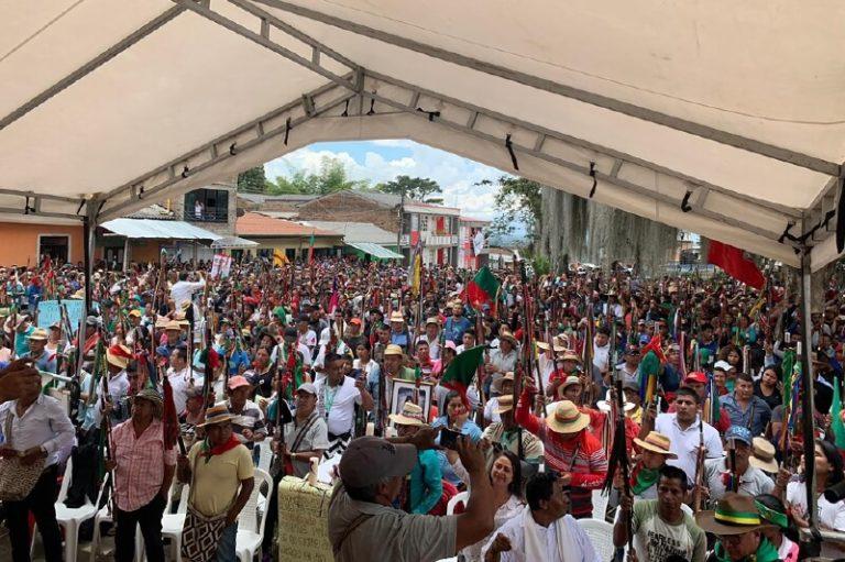 Cartel de Sinaloa y disidencias de las FARC amenazan indígenas en el Cauca