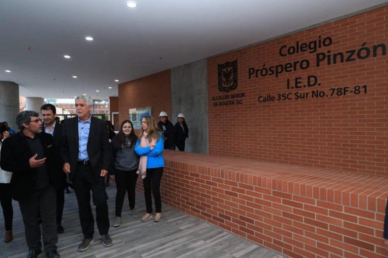 Estos son los colegios que le deja Enrique Peñalosa a Bogotá
