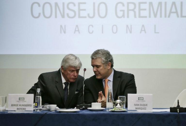 Consejo Gremial apoya decisión del presidente Duque de reactivar sectores