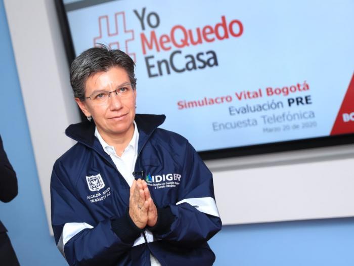 Alcaldía de Bogotá actualizó medidas para mitigar contagio del covid