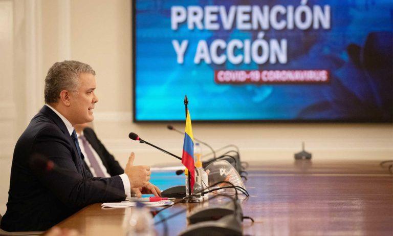 Presidente Duque extendió aislamiento preventivo hasta agosto