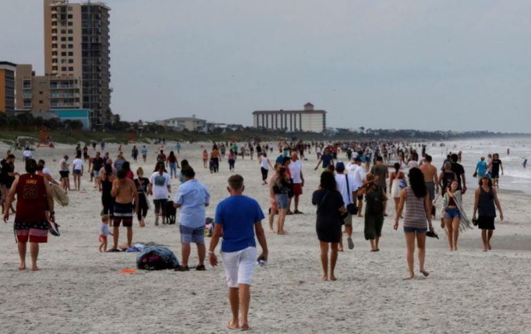 Cerraron nuevamente playas y parque en Miami por contagios de Covid-19