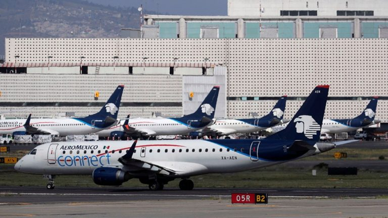 Aeroméxico se acogió a la ley de bancarrota