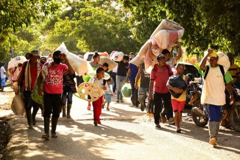 Tras masacre en N. de Santander, denuncian desplazamiento masivo de personas