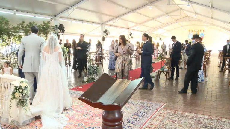 Celebraron matrimonio en Cali y la Policía llegó cuando había terminado
