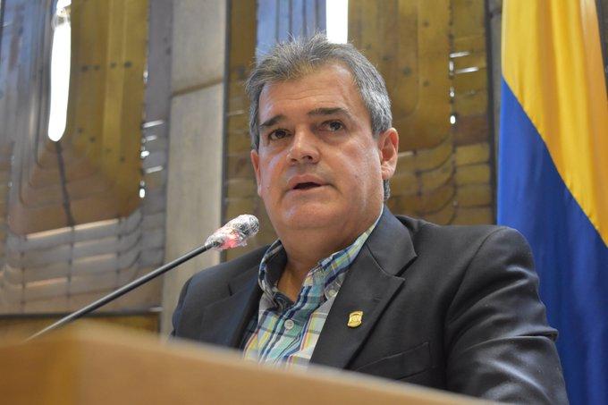 """""""Esperamos que la reactivación económica de Antioquia se dé pronto"""", presidente de la Asamblea Rubén Callejas"""