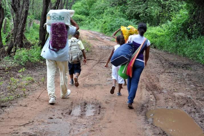 En 2021 se duplicó el desplazamiento en Colombia: Defensoría del Pueblo