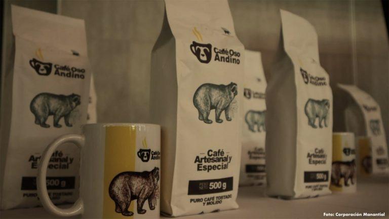 Proyecto 'Café Oso Andino' logró alianzas para su comercialización nacional e internacional