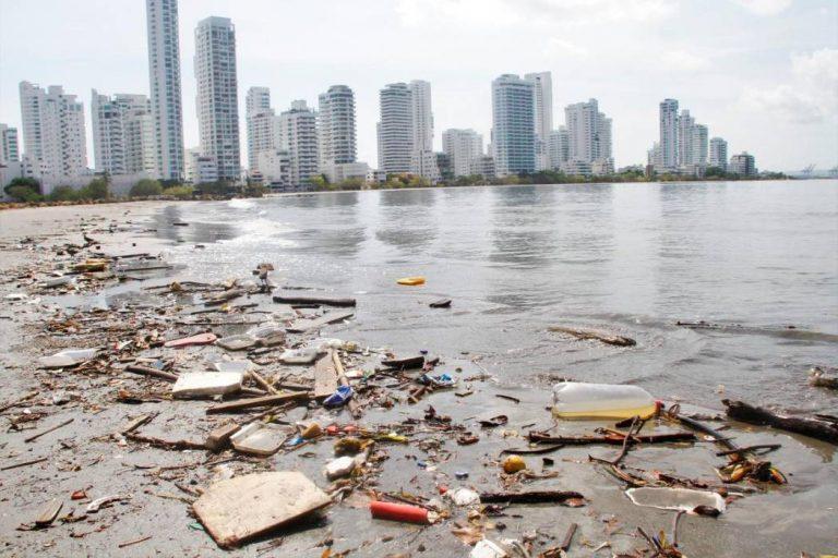 Bahía de Cartagena, gravemente afectada por la contaminación