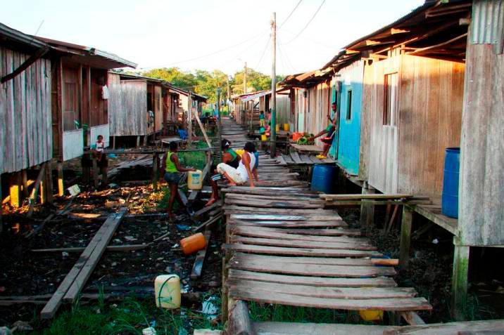 En Colombia hay 17,5 millones de personas en situación de pobreza