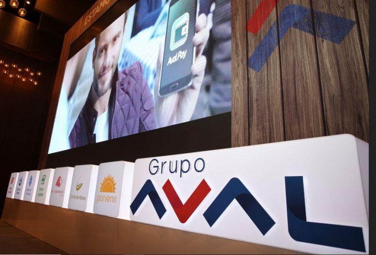 Grupo Aval reportó utilidades por $690.00 millones en el tercer trimestre