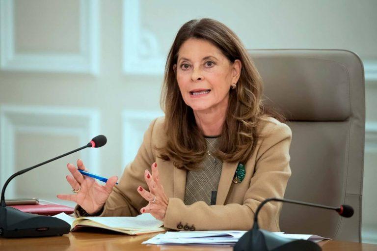 Vicepresidenta reclamó a la CIDH por no condenar bloqueos en Colombia
